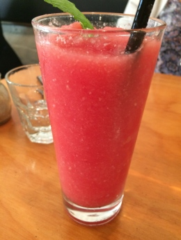 Watermelon and Lychee Drink