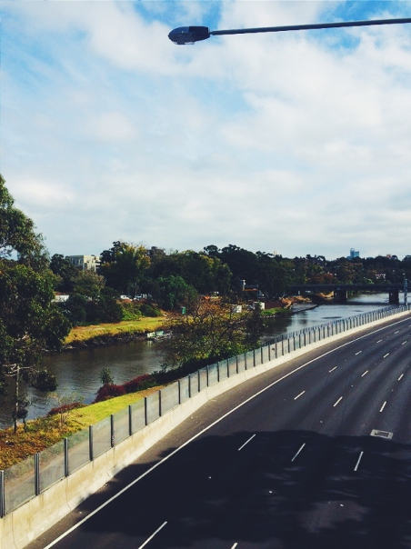 View of the Yarra